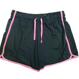 DANSKIN NOW Grey & Pink Athletic Activewear Shorts